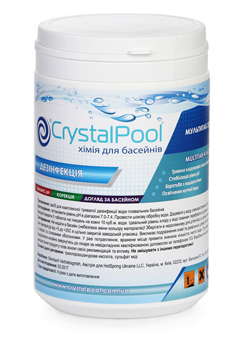 Мультитаб 20г Crystal Pool MultiTab 4-in-1 Small 1 кг (ps0101044v)